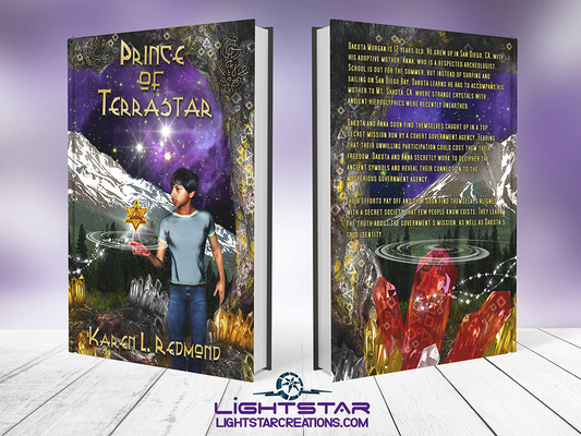 Prince of Terrastar By Karen L. Redmond, Cover Design By Lightstar